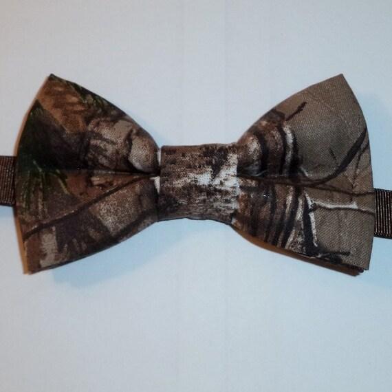 realtree camo bow tie