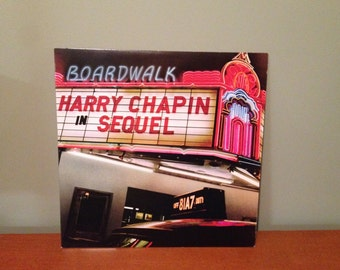 "Harry Chapin ""Harry Chapin in Sequel"" vinyl record"