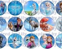 INSTANT DOWNLOAD Disney's Frozen Bottlecap images, Frozen party, Frozen hair bows