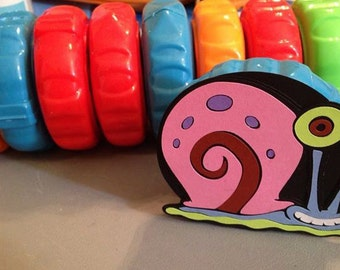 10 Gary the Snails to use on gum by the foot, Spongebob party, Spongebob Squarepants