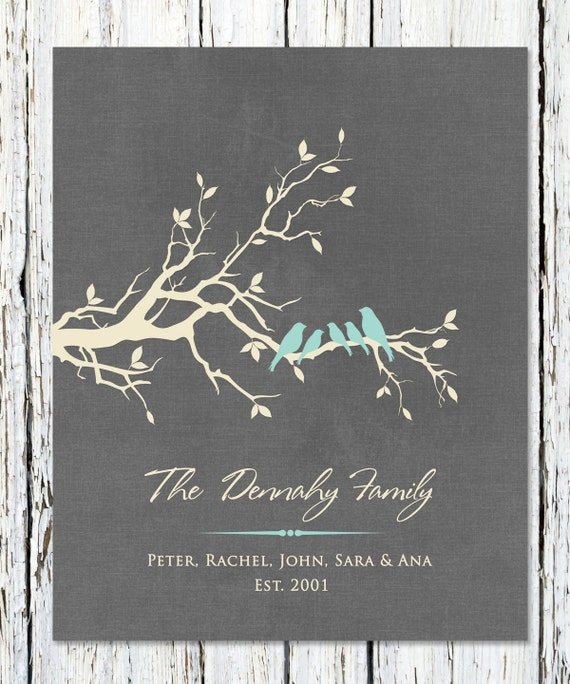 Home Entryway Decor Custom Family Name Wedding Gifts For Wedding 8x10