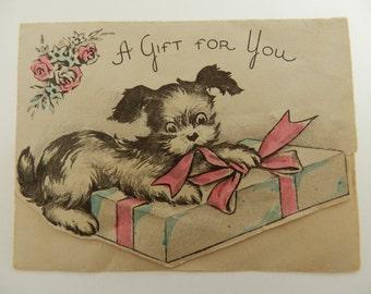 Vintage Unused Greeting Card