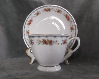 Vintage China Tea Cup and Saucer