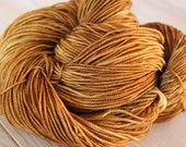 Caramel Rock Creek Sock Yarn - Moon Stone Farm Yarn
