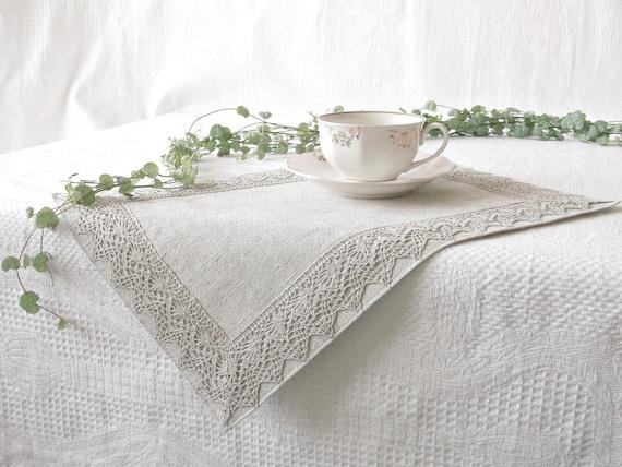 Articles similaires set de table lin tissu serviette lin - Set de table tissu ...