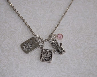 Personalized Scrapbook Necklace