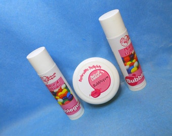 Natural Handmade Lip Balm - Bubblegum