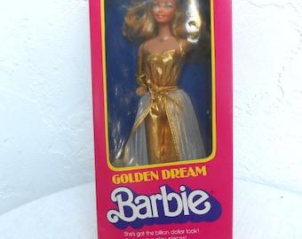 """1980 Vintage Barbie """"Golden Dream"""""""