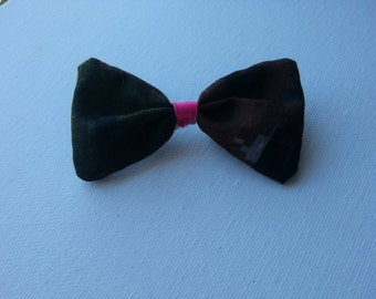 MARPAT Hair Bow with Ribbon Center