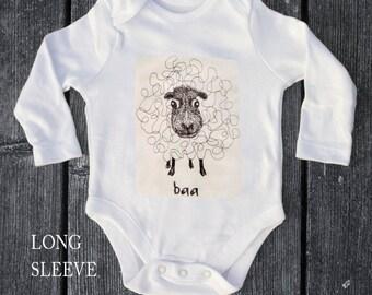 Baa  Baby Bodysuit