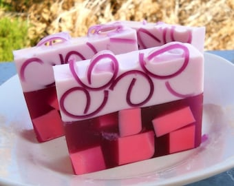 Sweet Pea Soap, Homemade soap, glycerin soap, Vegan Soap, Homemade Soaps, Soap Bars