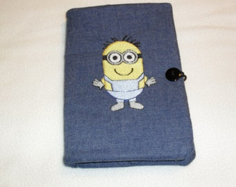 "Minion tablet cover/case for the Kindle Paperwhite and Paperwhite 3G, Kindle 4, Kindle Touch and the little NOOK measuring 6.5""X5"""