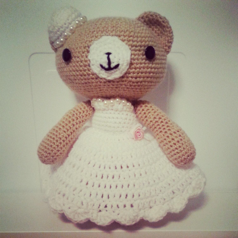 crochet wedding bear couple pdf pattern amigurumi great. Black Bedroom Furniture Sets. Home Design Ideas