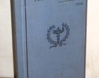 "1905 Hard Cover Book ""Anecdotes Faciles"" French Written Student Stories - Young Adult"