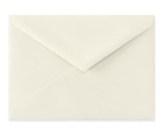6 bar ivory envelopes, 25 count