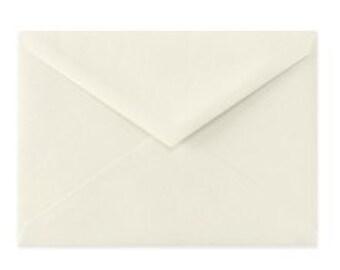25 Ivory envelopes for 5x7 cards.