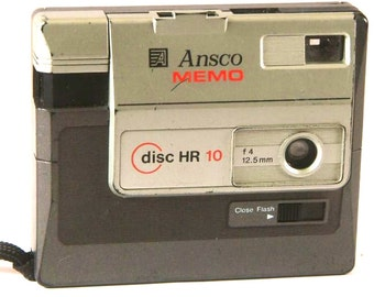 Retro Ansco Disc Film Memo HR10 Camera for Kodak Disc Film (3071)
