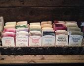All Natural Soap // Plant-based //Vegan// Essential oil // Natural colorants