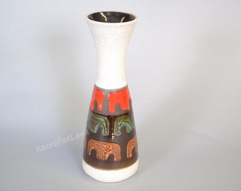 Beautiful retro Dümler & Breiden  vase 102  25