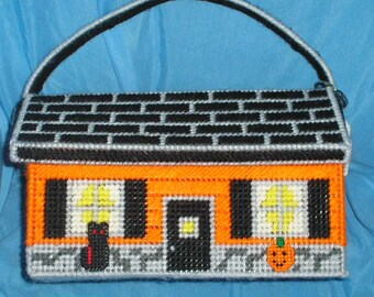 Haunted House Cottage  Purse