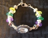 Mardi Gras European Charm Watch