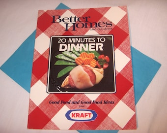Better Homes and Gardens 20 MINUTES TO DINNER 1990