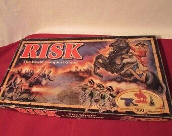RISK 1993 The World Conquest Game Parker Brothers