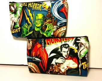 Classic Monster Makeup Bag