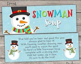 photograph regarding Free Printable Snowman Soup Labels referred to as Xmas Sweet Cane Hershey Kisses