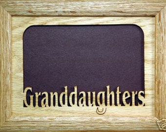 Granddaughters Picture Frame 5x7
