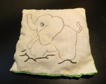 Little Elephant Pillow
