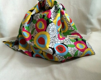 Organic Cotton Lunch Bag - Magic Garden