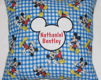 Mickey Mouse Personalized Pillow