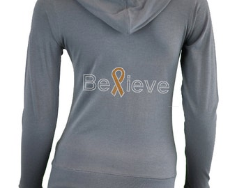 Custom Leukemia Cancer Awareness Shirt . Fight Leukemia Cancer . Leukemia Cancer Awareness Clothes . ORANGE Ribbon . Cancer Walk