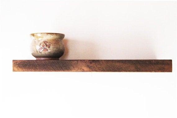 Historic Reclaimed Wood Rustic Floating Shelves
