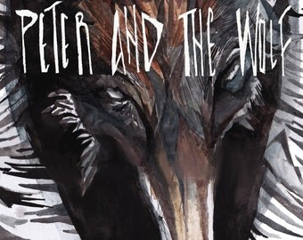 Peter and the Wolf Postcard
