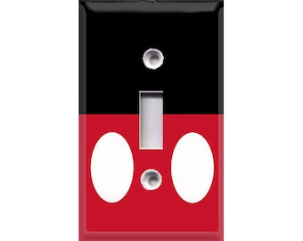 Simple Mickey Light Switch Cover