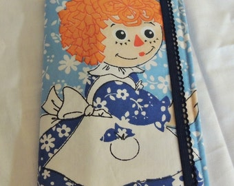 Vintage Raggedy Ann and Andy List taker - AS IS SALE!! Epsteam