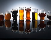Pretentious Set- All PBGC Beer Glasses