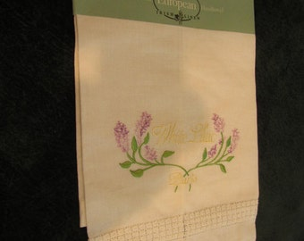 vintage tea towel, linen from Ireland, never used