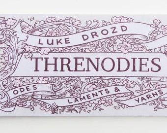 Threnodies - Odes, Laments and Yarns - Comic Strip Book