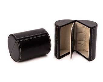 Mila Leather Travel Jewelry Case - Makes a Unique Bridesmaid Gift - Available in 3 Colors!