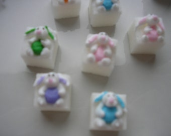 28 Pcs Decorated Sugar Cubes Easter Collection     Simply Darling