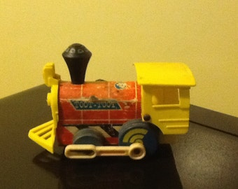 Fisher price toot-toot pull toy