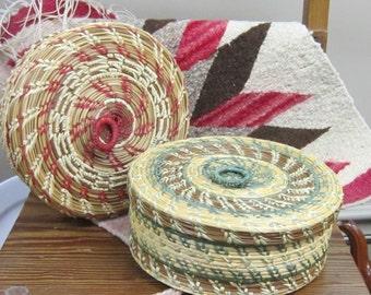 Handmade Sweetgrass Baskets