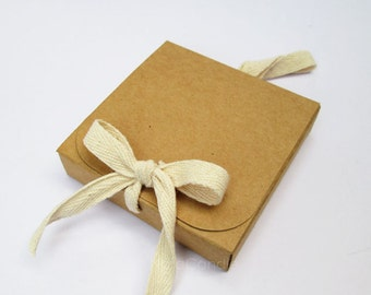 Bulk Brown Kraft Box, Gift Box Set of 50