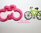 "4"" Bicycle COOKIE CUTTER"