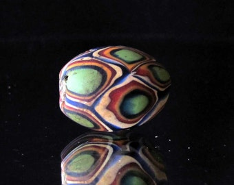 handmade colorful indonesian glass bead (11)
