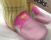 "Nooks, toddler footwear, toddler size US 4 / 6 - 12m / 4.5"" length Slip-On Style"