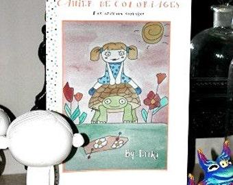 Art Zine Hippie Coloring Book Zine Singleton Art